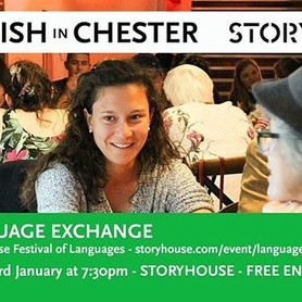 Join us tomorrow for the Festival of Languages - a free community-led festival celebrating the diversity of languages and cultures in Chester.  English in Chester have teamed up with Storyhouse to give students and locals alike the opportunity to meet and converse in a fun and social environment. There will be structured, 'speed-dating' style conversation, plus relaxed group chat!  https://www.storyhouse.com/event/language-exchange  #storyhouselanguagefestival #storyhouse #englishinchester #myeic #chester #community #communityengagement #learnmore #discover