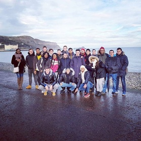 Our French engineers group out for the weekend visiting some beautiful places in North Wales! #chester #northwales #llandudno #llandudnopier #Studyinengland #Studyabroad #explore #uk