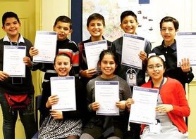 Our super lovely Mexican closed group after a successful course at #englishinchester #younglearners #youngachievers #nevertooearly #lovetolearn #proud #mexico #esl #latam #studyabroad #england #uk #chester