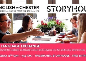Join us this Wednesday for the Free Language Exchange @storyhouselive. Learn, discover and have fun! #thingstodo #wednesday #chester #englishinchester #international #exchange #friends #languagelearning #languages #free