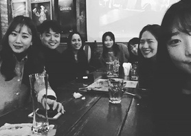 Super fab time in #Seoul catching up with this great bunch of former students! Thanks for coming out guys! Remember the food tips!!! #korea #alumni #englishinchester #chester #studyabroad #reunion