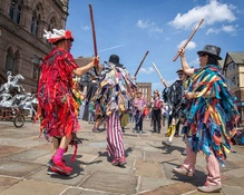 EiC Recommends: Try Border Morris Dancing