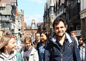 HUGE thanks to all our amazing students who wanted to share their happy experiences at English in Chester and helping us make our new promo videos which are now online! Have a look here: https://www.youtube.com/user/EnglishinChester #englishinchester #chester #studyabroad #english #friendship #international